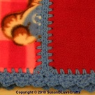 Fleece Blanket Edging