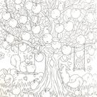Colors make you happy by Miki Takei Vol2- Japanese coloring book