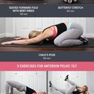 10 Stretches + Exercises to Fix Anterior Pelvic Tilt (& how to tell if you have it)