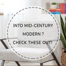Mid-Century Modern Inspired Furniture