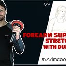 Forearm Supinator Stretch With Dumbbell