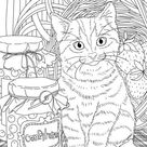 Sweet Tooth  Printable Adult Coloring Page from Favoreads   Etsy