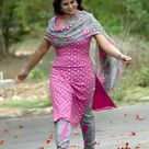 South Indian Actress Sneha Cute in Churidar