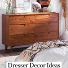 Dresser Décor Ideas l Dresser Décor Bedroom