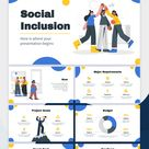 Social Inclusion Project Google Slides & PowerPoint template