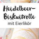 Heidelbeerbiskuitrolle mit Eierlikör Rezept | WW Deutschland