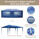 Yescom 10' x 20' Outdoor Wedding Party Tent 6 Sidewalls Blue