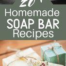 All Natural Homemade Soap Bar Recipes