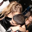 Gigi Hadid Gets a Little Help From Zayn Malik While Leaving Her 21st Birthday Bash