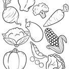 Ausmalbilder Kostenlos Obst Gemüse