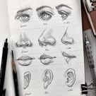 Gesicht Zeichnen Lernen