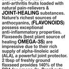 Cherries & berries top the list of anti-arthritis fruits loaded with natural pain-relievers &