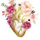 Human Heart Anatomy Throw Pillow by enorasis