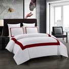 Lira Luxury Duvet Set - Red Line / US TWIN 3pcs