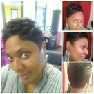 Pixie cut done by my favorite stylist EVA Jenn Boris at Shades of Color Salon in Laurel, MD!!