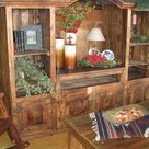 Rustic Entertainment Centers