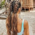25+ Easy & Beautiful Beach Hairstyles You Can Wear All Summer   momooze.com