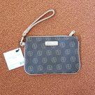 Adrienne Vittadini Bags   Adrienne Vittadini Wristlet   Color: Brown/Cream   Size: Os