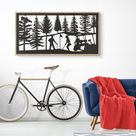 Wall art home decor playing golf   Etsy