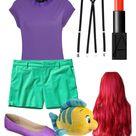 Ariel Halloween Costume