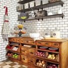Vintage Meets Industrial in this Storage-Savvy Home