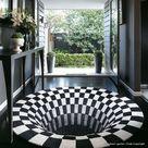Heimtextilien   3D Vision Wohnzimmer Teppich Rund 150 cm   Haus und Garten Dekoration Günstig Online Kaufen