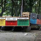 Ideas Inspiring Innovation | Furniture made from recycled plastic crates