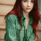 Red Hair Green Eyes