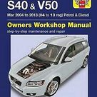 Volvo S40 & V50 Mar 2004-2013: Complete coverage for your vehicle - Default