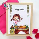 Crafty Meraki Happy Ugadi stamp set