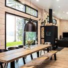 Inspiration for a modern log house - Honka