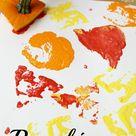 Pumpkin Art Exploration Fun Fall Activity for Preschoolers