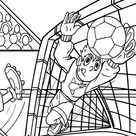 Kostenlos Malvorlage Fußball  Für Entspannt Und Widerstandsfähig Frei