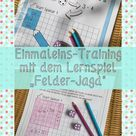 """Einmaleins Training mit dem Lernspiel """"Felder-Jagd"""""""