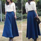 Winter Maxi Skirts