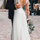 21 Fantastic Lace Beach Wedding Dresses   Wedding Dresses Guide