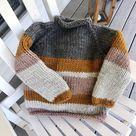 Beginner Friendly Knitting Pattern Gallant Sweater Chunky | Etsy