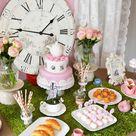 Alice In Wonderland Themed Birthday Party {Ideas, Decor, Cake}