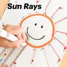 Dot to Dot  Sun Rays