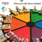 Matching Colors When You Only Have A Minute - Liz's Early Learning Spot