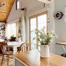 Their 850 Sq. Ft. Vintage Cottage on Lake Ontario