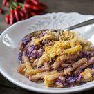Makkaroni mit Käse, Rotkohl & Chili-Kruste - Madame Cuisine
