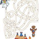 Labyrinthe pour apprendre à compter