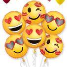 Emoticon Emoji Love Balloon Bouquet