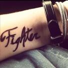 Fighter Tattoos