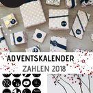 Adventskalender Zahlen 2020 - MiniMenschlein.de ♡
