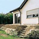 1 Garten, 2 Ideen für Terrassenbeete