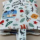 Lavender Bags Camping fox fabric - Lavender sachets - Camping Fabric - Lavender Cushion - Scent Bag- Scented Pillow - Aromatic - well-being.