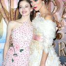 Mackenzie Foy and Keira Knightley attend the European Premiere of...