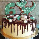 Dinosaurier Kuchen selber machen - Rezept und Ideen für Dino Kuchen